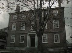 Ward Mansion, Salem, Mass said to be haunted by the victims of Sheriff George Corwin who is accused of strangling alleged witches