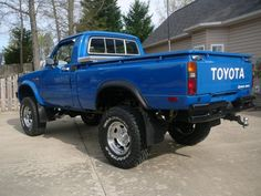 '80 Toyota 4x4. Love these.