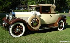 1929 Packard Eight 2-4 Passenger Convertible Coupe