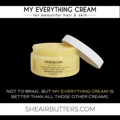 """Well, it is. 😁 Shop Sheair Butters today to see why Essence magazine called our amazing healing balm """"a treat for your skin. Body Butter, Shea Butter, Essence Magazine, Face And Body, Your Skin, The Balm, Skincare, Healing, Good Things"""