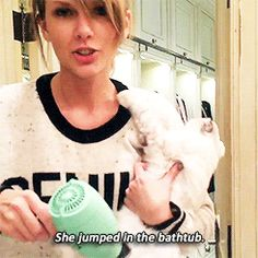 """""""Feel real embarrassed don't ya?"""" (The country in taylor comin out ;)"""