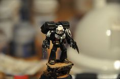 Page 1 of 2 - Mercay's Raven Guard 5th company, Victorus aut Mortis! - posted in + WORKS IN PROGRESS +: Hey ho! Very long time lurker here who finally has gathered enough courage (and finally have something worth sharing, hopefully) to start my own WIP blog! Making a long story short, since I bought my very first miniatures back in 2004, a space marine combat squad, Ive lived and breathed Space Marines and IoM in general, having started but never finished more space marin...