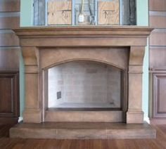 Cast Stone Fireplace Mantel Surround | Products I Love | Pinterest ...