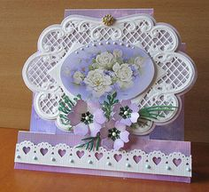 APRIL 2013 - Marianne Creatables Design Die Handmade Card