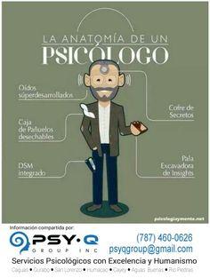 Algunas caracteristicas de tu Psicólogo:  CONFIDENCIALIDAD, CONFIANZA, JAMAS TE JUZGA, AYUDA ● Psy-Q Group, Inc. ● (787) 460-0626 ● www.psy-qgroup.com