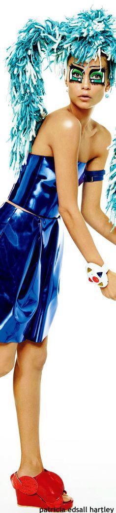 Halloween Gala / karen cox. Natasha Poly for Vogue Japan - March 2015