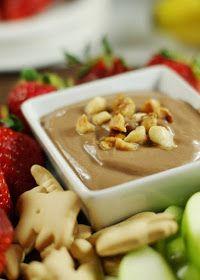 The Kitchen is My Playground: Nutella Greek Yogurt Dip