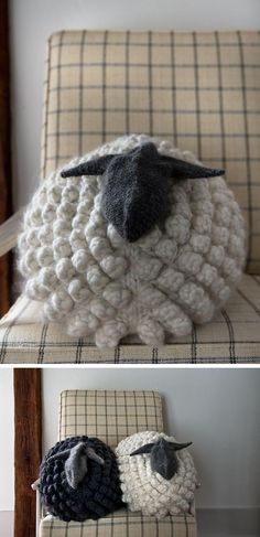 You guys, I find myself daydreaming about a stuffed animal, and it's all Purl Soho's fault. I thought the Bobble Sheep Pillow was super cute and well done when they first publishedthe …                                                                                                                                                                                 More