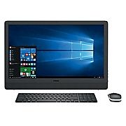 """Buy Dell Inspiron i3464-5397BLK 23.8"""" Touch All-in-One Desktop (Intel Core i5, 1TB HDD, 12GB RAM, Windows 10, Intel HD 620 Graphics) at Staples' low price, or read our customer reviews to learn more now."""