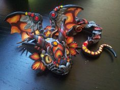 Ignis Baby Dragon by MakoslaCreations on Etsy, $80.00