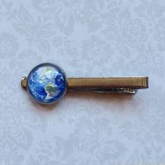 LooPoP Men Tie Clip Outer Space Universe Starry Sky Stainless Tie Pins for Business Wedding Shirts Tie Clips Include Gift Box