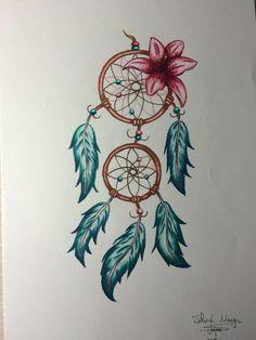 Dream catcher Boho Tattoos, Feminine Tattoos, New Tattoos, Dream Catcher Drawing, Dream Catcher Tattoo, Dream Catcher Pictures, Composition Photo, Inner Elbow Tattoos, Amazing Pumpkin Carving