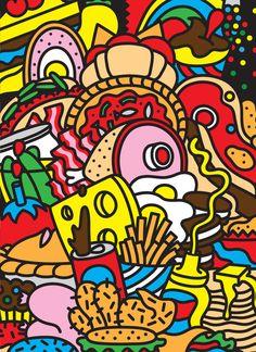 All-you-can-eat Pop Art Buffet