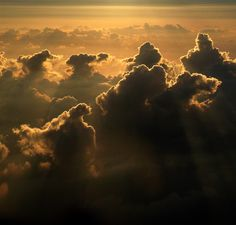 Angels in cloud formation