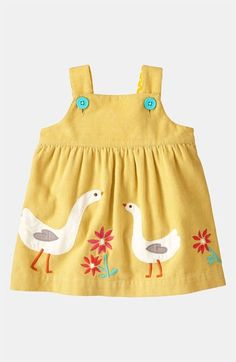Mini Boden Appliqué Dress...I would have died over this when Rowie was a baby...