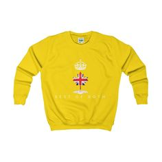 Junior version of the modern and stylish sweatshirt. Soft cotton and quality print make this sweat instantly loved by all who wear it.: Medium Heavy fabric oz/yd² g/m²)). Graphic Sweatshirt, Stylish, Sweatshirts, Fabric, Sweaters, Cotton, Mens Tops, Kids, How To Wear