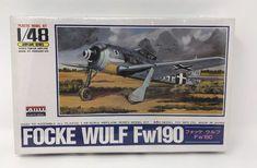 ARII 1/48 FOCKE WULF FW190 Fighter Plane Model Kit #A335-800 #ARII