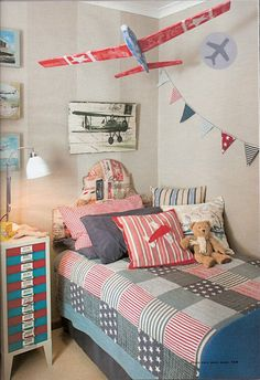 Aviation Bedroom for a little boy