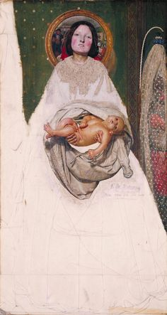 Not a Pre-Raphaelite History Painter: Ford Madox Brown – The Eclectic Light Company Pre Raphaelite Brotherhood, Edward Burne Jones, Google Art Project, Tate Gallery, Artist Gallery, Tate Britain, Religious Paintings, Life Paint, John Singer Sargent