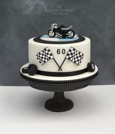 60th Birthday Cake for a motorbike fanatic