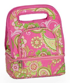 Take a look at this Pink Desire Savoy Lunch Tote by Picnic Plus on #zulily today!