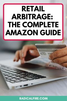 Are you interested in retail arbitrage? With Amazon FBA you can make extra money from home. You can buy items from stores and flip them for profit. Here's exactly what products will give you profit, what retail arbitrage is, and how to make extra money with Amazon FBA #retailarbitrage #earnmoneyonline #sidehustles #extramoney #workathome Make Money On Amazon, How To Make Money, Retail Arbitrage, Dividend Investing, Creating Wealth, Finance Organization, Financial Peace, Amazon Fba, Managing Your Money