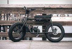 Vélo électrique avec un design old school - #HighTech - Visit the website to see all photos http://www.arkko.fr/velo-electrique-super73-oldschool/