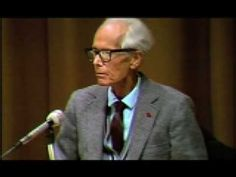 """Kohut's final speech, """"Reflections on Empathy"""", was given at the 1981 Self Psychology conference in Berkeley, California. He was aware he was dying, and at the conclusion of his speech he announced his final farewell. This is a Lifespan Learning Institute video."""