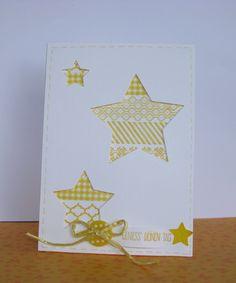 Framlits Stars, Stampin Up!, Dafodil Delight