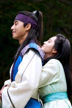 Hwarang Park Seojoon / Go Ara Asian Actors, Korean Actors, Korean Dramas, Kdrama, Go Ara, Park Seo Joon, Choi Jin, Weightlifting Fairy Kim Bok Joo, Park Hyung Sik