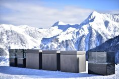 ROCK.AIR, modular outdoor kitchen