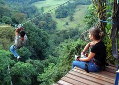 Canopy at El Valle de Antón, Panamávida salvaje, Panamá. Tortuga Carey, isla de Coiba.