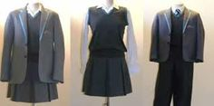 For middle school to high school boys and girls ( teen) uniforms... Which includes blazer