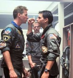 Tom Cruise and Val Kilmer/Provided by The Verge