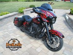 2015 Harley-Davidson Street Glide with custom paint and black out package