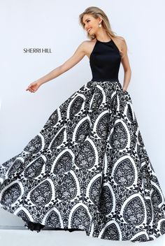Sherri Hill Prom and Homecoming Dresses Sherri Hill 50577 Sherri Hill One Enchanted Evening - Designer Bridal, Pageant, Prom, Evening & Homecoming Gowns Sherri Hill Prom Dresses, Grad Dresses, Ball Gown Dresses, Dance Dresses, Prom Gowns, Dresses Dresses, Pretty Dresses, Beautiful Dresses, Looks Party