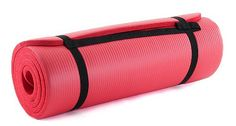 ProSource Premium 1/2-Inch Extra Thick 71-Inch Long High Density Exercise Yoga Mat with Comfort Foam and Carrying Case $19.97 - $20.99
