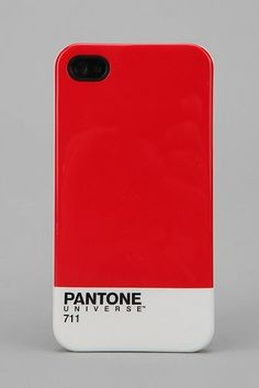 Urban Outfitters  Case Scenario Pantone iPhone Case - Red