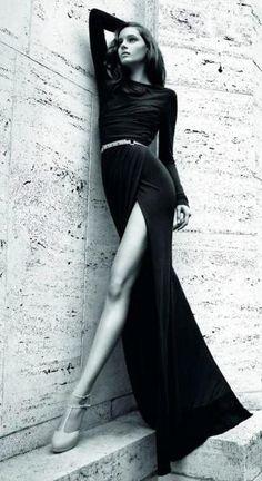 beautiful dress at a photoshoot