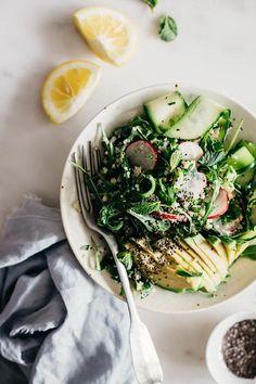 Revitalizing Spring Salad | Gentle 3 Day Spring Detox