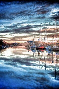 Ios Marina, Ios Island - Greece  by Tony Rappa