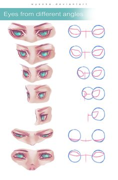 61 Ideas For Eye Drawing Tutorial Sketches Design Reference Digital Painting Tutorials, Digital Art Tutorial, Art Tutorials, Eye Drawing Tutorials, Art Reference Poses, Design Reference, Drawing Reference, Anatomy Reference, Character Reference