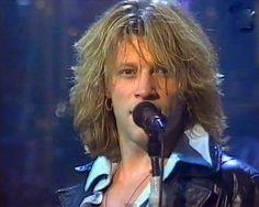 """Jon Bon Jovi singing """"Hey God"""" at MTV Awards"""