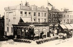 Golden Fleece, 216 Essex Road, Islington - circa 1910