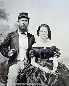 8-by-10-Civil-War-Photo-Print-Man-in-Charleston-Militia-Uniform-and-Lovely-Woman
