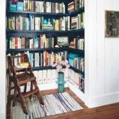 "like the small ""library"" nook. could be reading nook too."