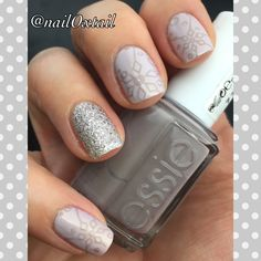 Stamped with Essie Chinchilly