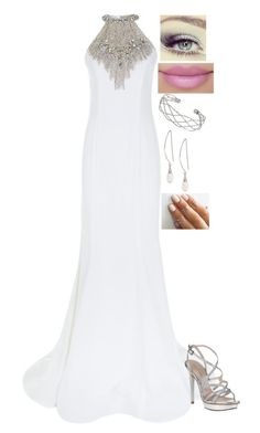 """""""Perfect For You"""" by dragongirl145 ❤ liked on Polyvore featuring Jovani, Wallis, Lane Bryant, Pelle Moda and Revlon"""