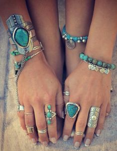 Sterling silver turquoise jewelery