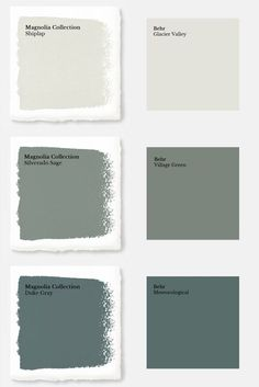 magnolia homes joanna gaines Discover the secret to getting you favorite fixer upper paint colors from Behr at your local Home Depot with these Magnolia Home Paint color mat Magnolia Paint Colors, Fixer Upper Paint Colors, Magnolia Homes Paint, Behr Paint Colors, Matching Paint Colors, Green Paint Colors, Paint Colors For Home, House Colors, Behr Exterior Paint Colors